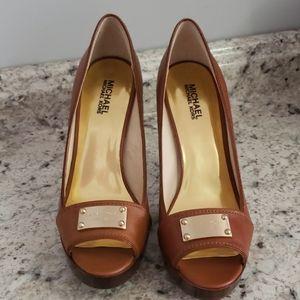 Michael Kors Women's Peep Toe Heels